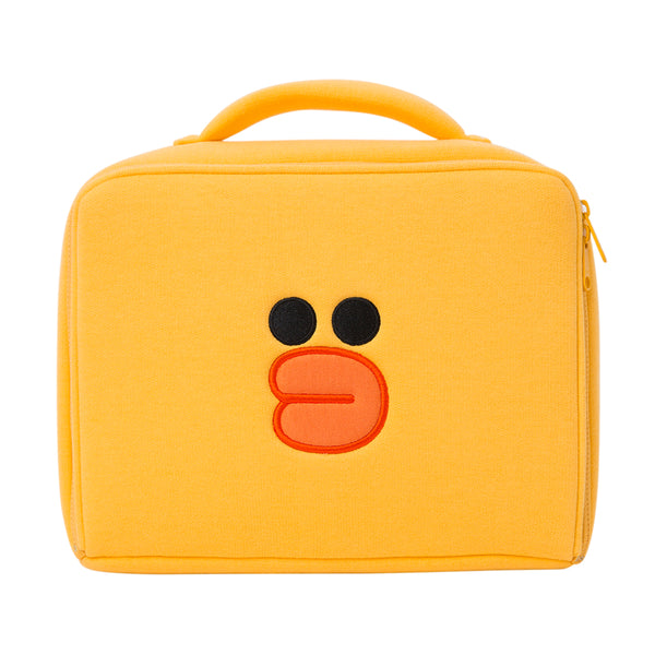 Line Friends - Sally Square Multi Pouch (XL) - Bag - Harumio