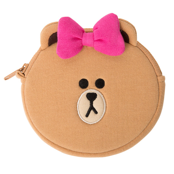 Line Friends - Choco Earphone Pouch Set - Bag - Harumio