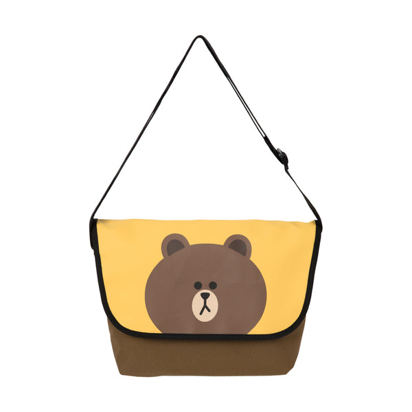 Line Friends - Brown Messenger Bag - Bag - Harumio