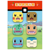 Pokemon - Official Merch - Pokemon Quest Badge Set