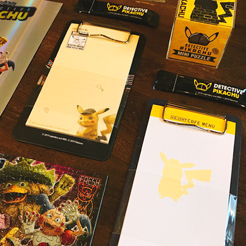 Pokemon - Official Merch - Detective Pikachu Clipboard