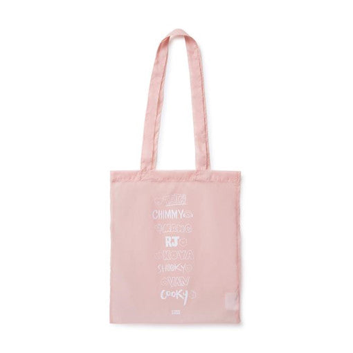 BT21 - Official Merch - Pink Nylon Bag