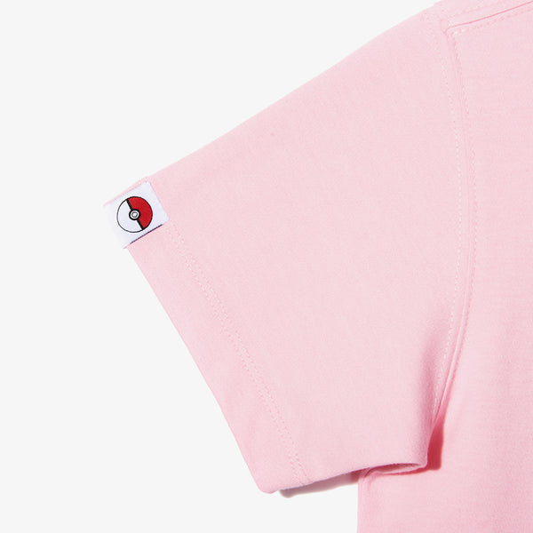 Pokemon x New Era - Kids Pokemon Flag T-shirt - Pink