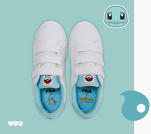Fila X Pokemon - Court Deluxe - Squirtle