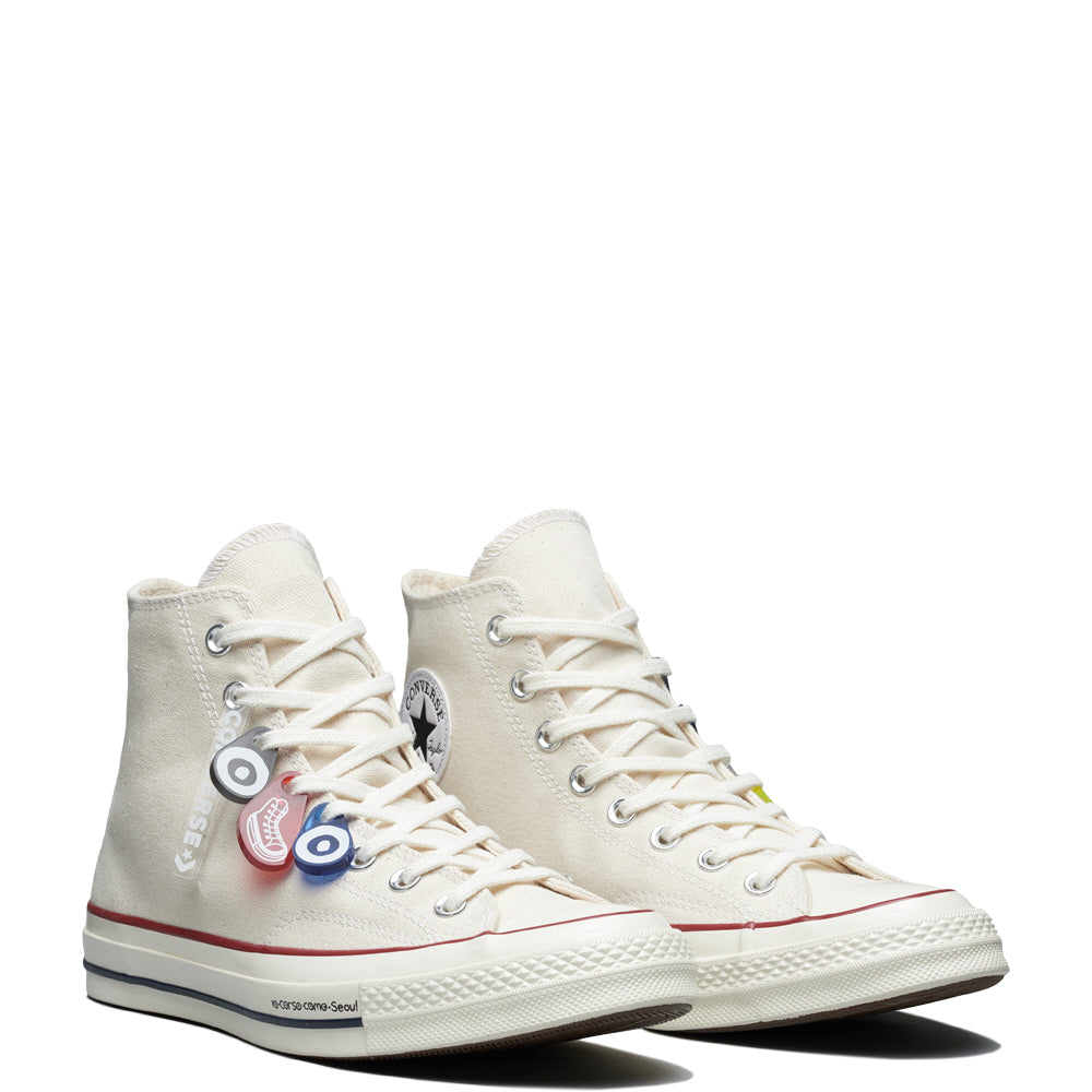 10 Corso Como X Converse Chuck 70 - High Top - White