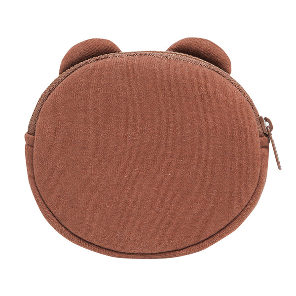 Line Friends - Brown Coin Purse - Bag - Harumio
