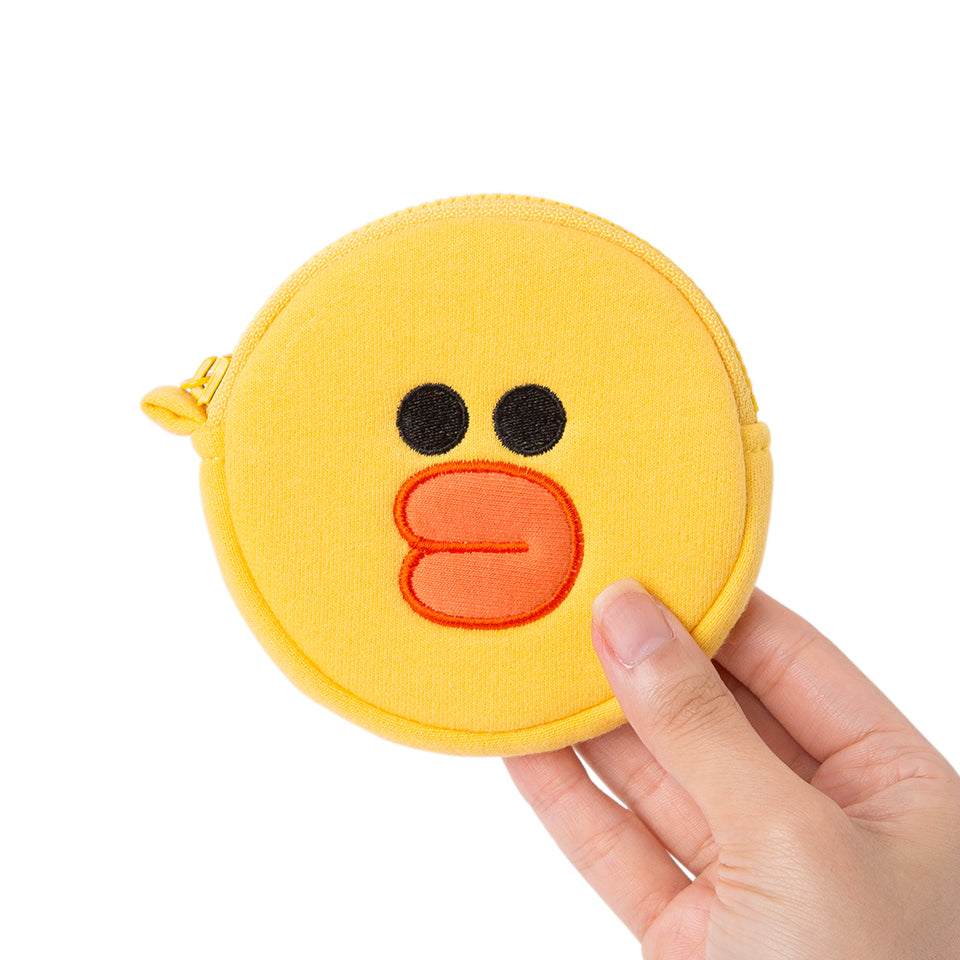 Line Friends - Sally Mini Coin Purse - Bag - Harumio