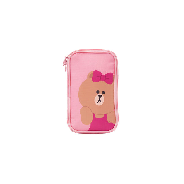 Line Friends - Choco Travel Pouch (SS) - Bag - Harumio