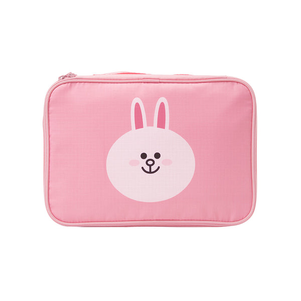 Line Friends - Cony Travel Pouch (M) - Bag - Harumio