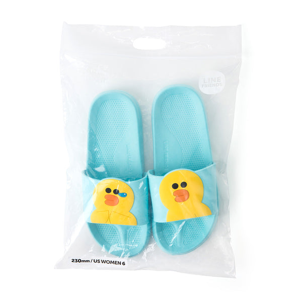 Line Friends - Sally Two Face Slipper - Shoes - Harumio