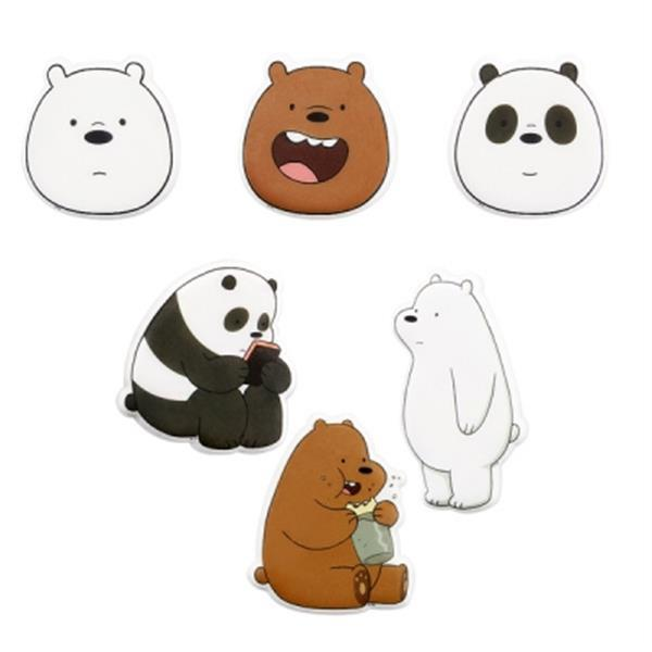 We Bare Bears Frizzy Sticker Harumio