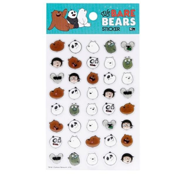 We Bare Bears - Epoxy Sticker