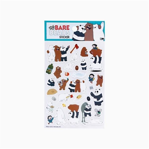 We Bare Bears - Paper Sticker