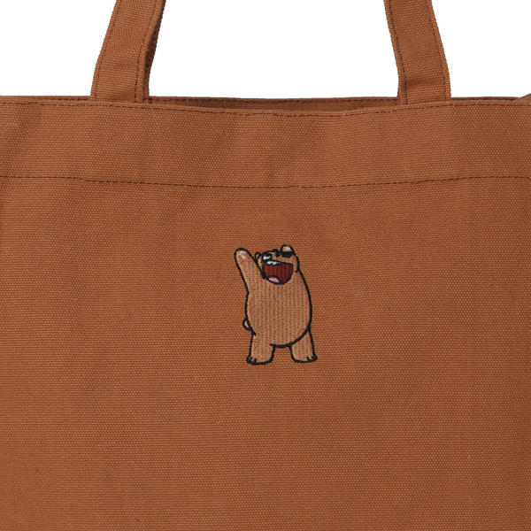 We Bare Bears X SPAO Eco Bag –  Brown