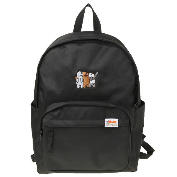 We Bare Bears X SPAO Candy Back Pack - Black