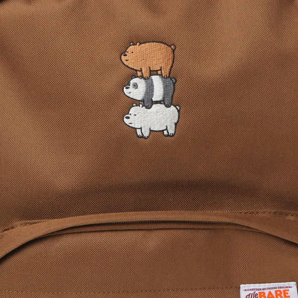 We Bare Bears X SPAO Candy Back Pack - Brown