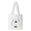 We Bare Bears X SPAO Fur Eco Bag –  White