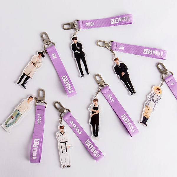 BTS World - Strap Keyring