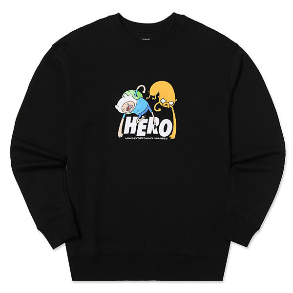Adventure Time X SPAO Sweater Crewneck - Hero - Hoodie - Harumio