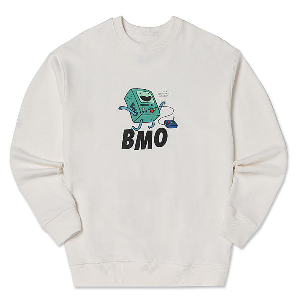 Adventure Time X SPAO Sweater Crewneck -Bmo