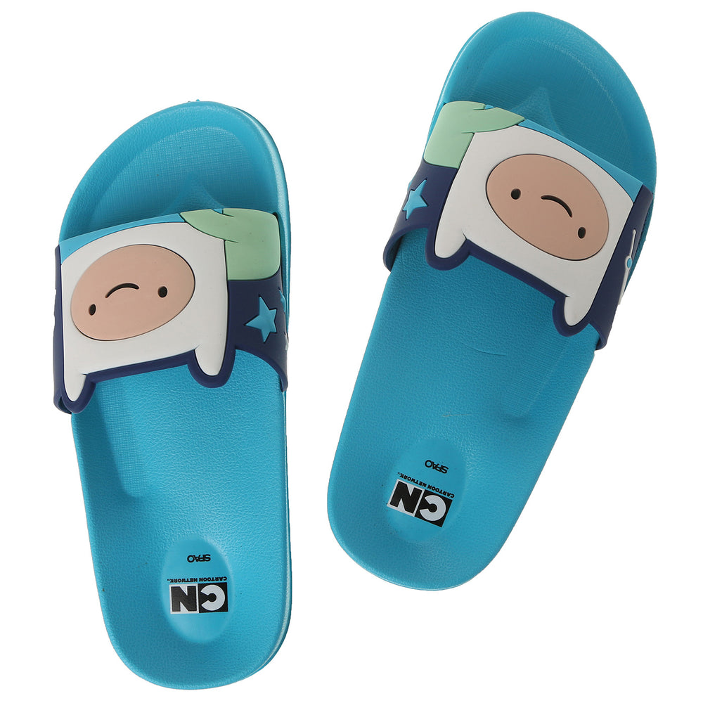Adventure Time X SPAO  Slipper  - Finn
