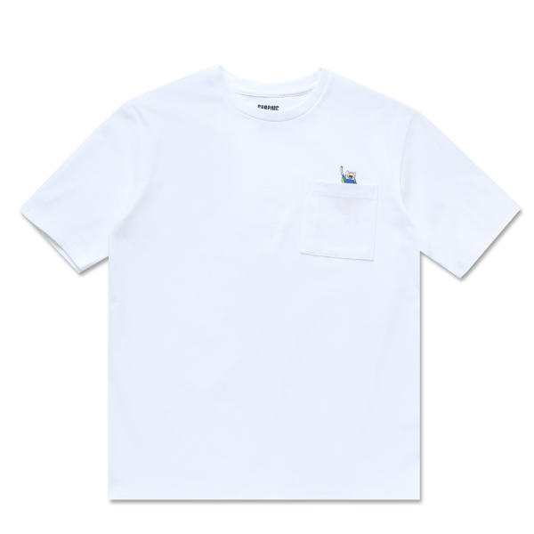 Adventure Time X SPAO - Pocket T- Shirt - Off White