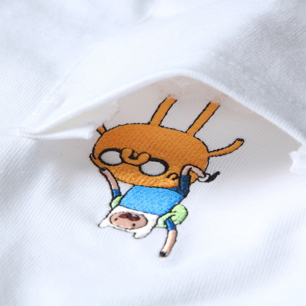 Adventure Time X SPAO - Pocket T- Shirt - Off White - T-Shirt - Harumio
