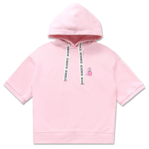 Adventure Time X SPAO - Colorful Set Up Top - Light Pink