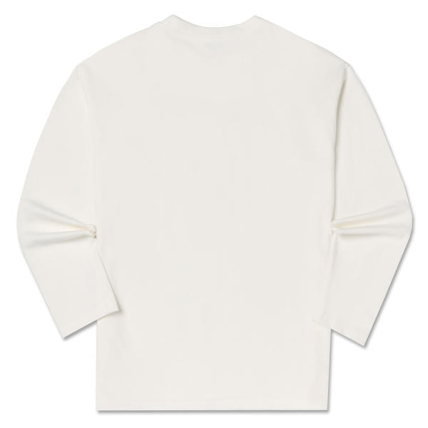 We Bare Bears X SPAO - Long Sleeved T-Shirt - White