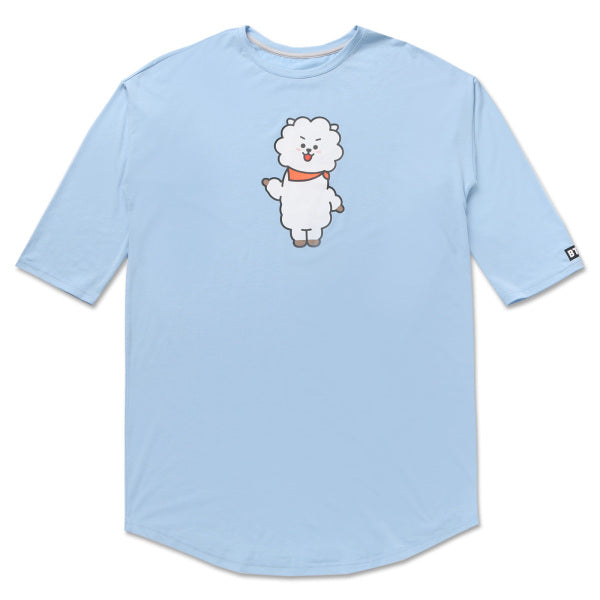 BT21 x Hunt Innerware - NightWear T-shirt - RJ - T-Shirt - Harumio