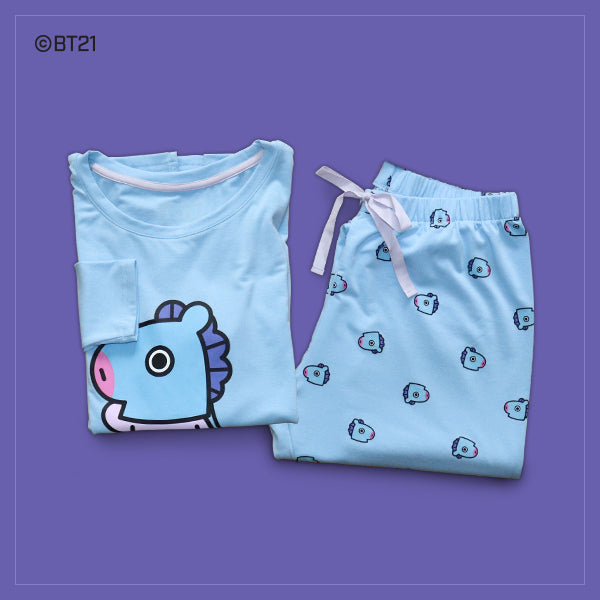 BT21 x Hunt Innerwear - T-Shirt Pajama Set - Mang