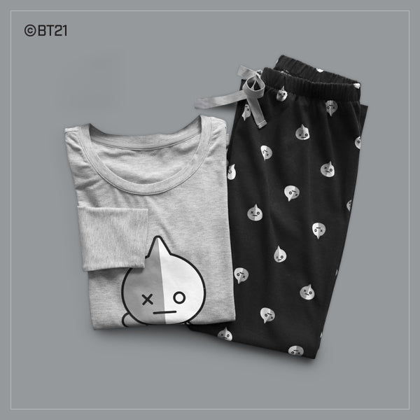 BT21 x Hunt Innerwear - T-Shirt Pajama Set - Van
