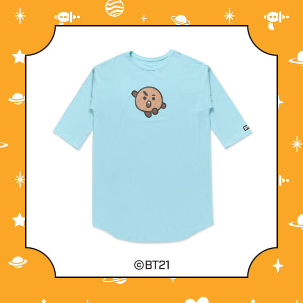 BT21 x Hunt Innerware - NightWear T-shirt - Shooky - T-Shirt - Harumio