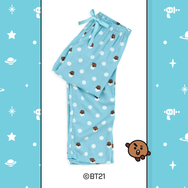 BT21 x Hunt Innerwear - Woven Pants - Shooky