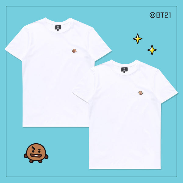 BT21 x Hunt Innerware - 2 T-shirt - Shooky - T-Shirt - Harumio