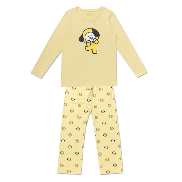 BT21 x Hunt Innerwear - T-Shirt Pajama Set - Chimmy