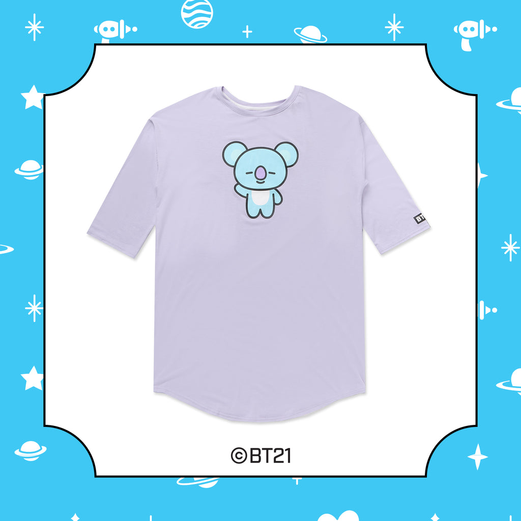 BT21 x Hunt Innerware - NightWear T-shirt - Koya - T-Shirt - Harumio