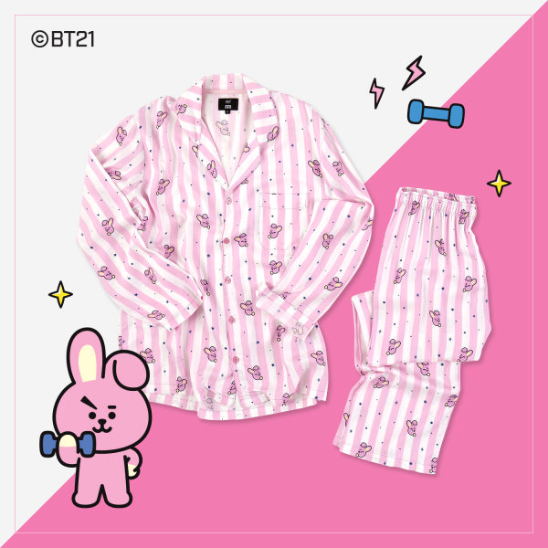 BT21 x Hunt Innerwear - Pajamas Set - Cooky - T-Shirt - Harumio