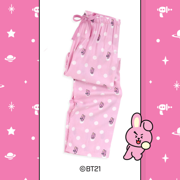 BT21 x Hunt Innerwear - Woven Pants - Cooky