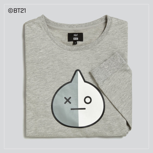 BT21 x Hunt Innerwear - Long Sleeve Polo Shirt - Van