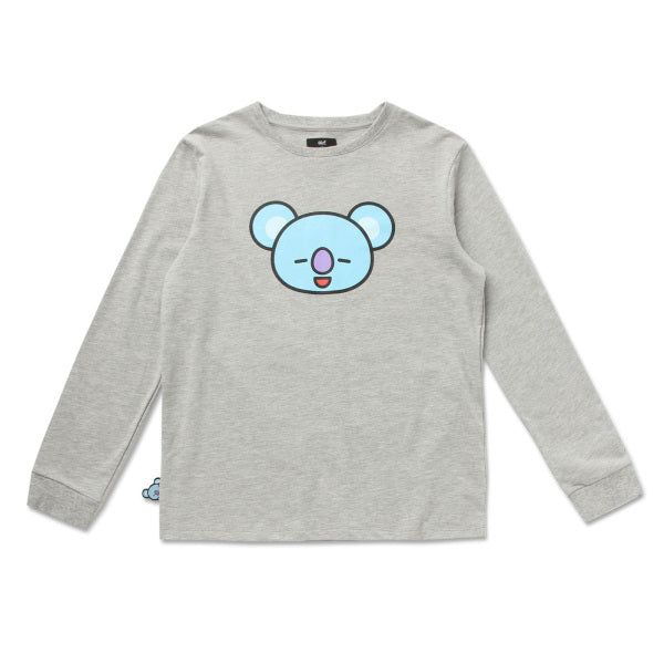 BT21 x Hunt Innerwear - Long Sleeve Polo Shirt - Koya