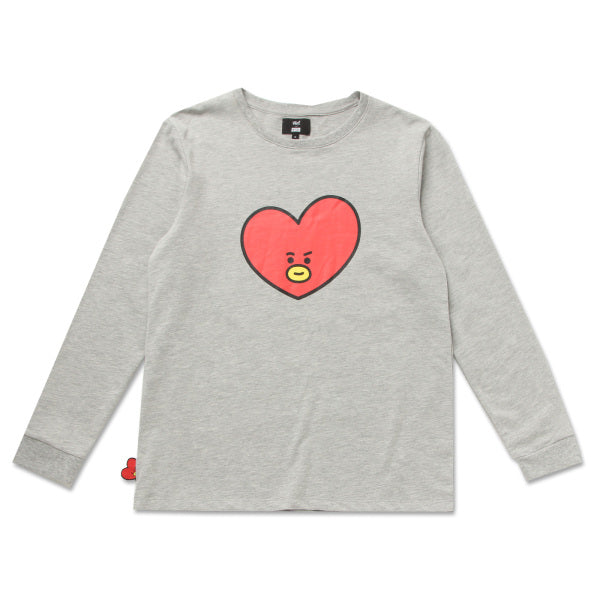 BT21 x Hunt Innerwear - Long Sleeve Polo Shirt - Tata