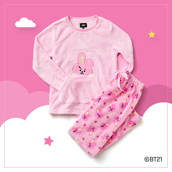 BT21 x Hunt Innerwear - Sleeping Pajama Set - Cooky