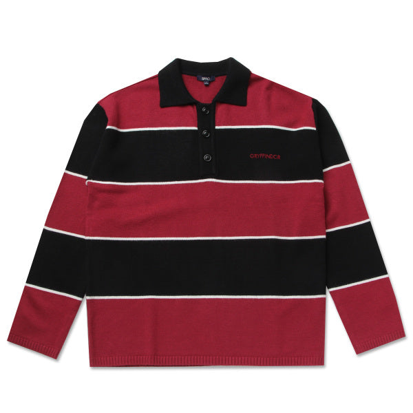 SPAO x Harry Potter - Quidditch Polo Stripe Sweater