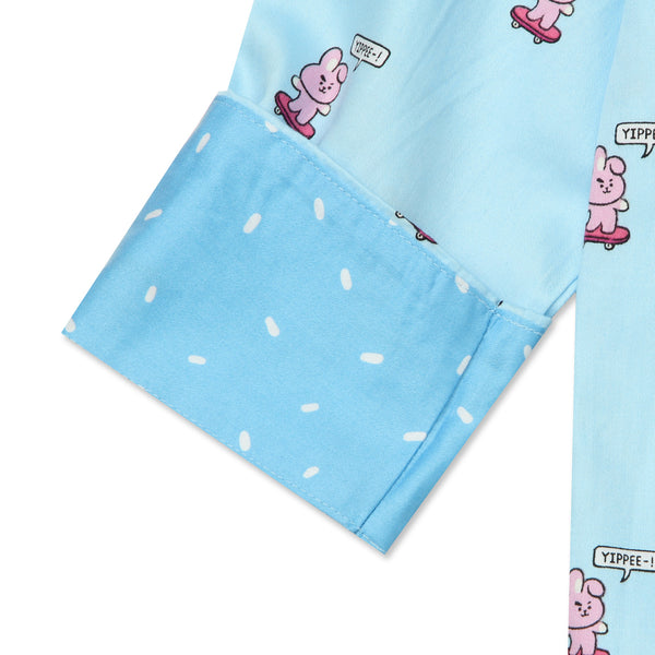 BT21 x Hunt Innerwear - Double Button Pajamas Set - Cooky