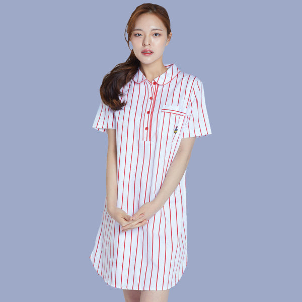 BT21 x Hunt Innerwear - Short Sleeve Dress Pajama - Tata