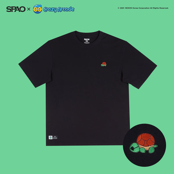 SPAO x Crazy Arcade - Short Sleeve Polo T-shirt