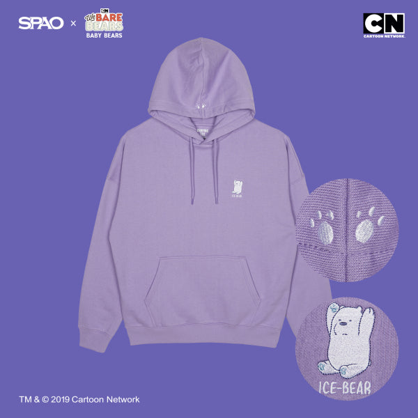 SPAO x We Bare Bears - Official Merch - Long Live Bear Hoodie