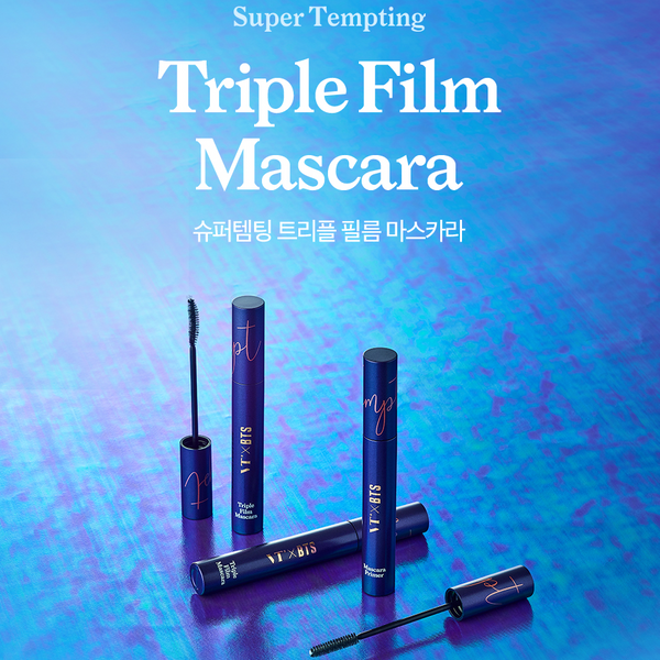 VT x BTS - Super Tempting Triple Film Mascara