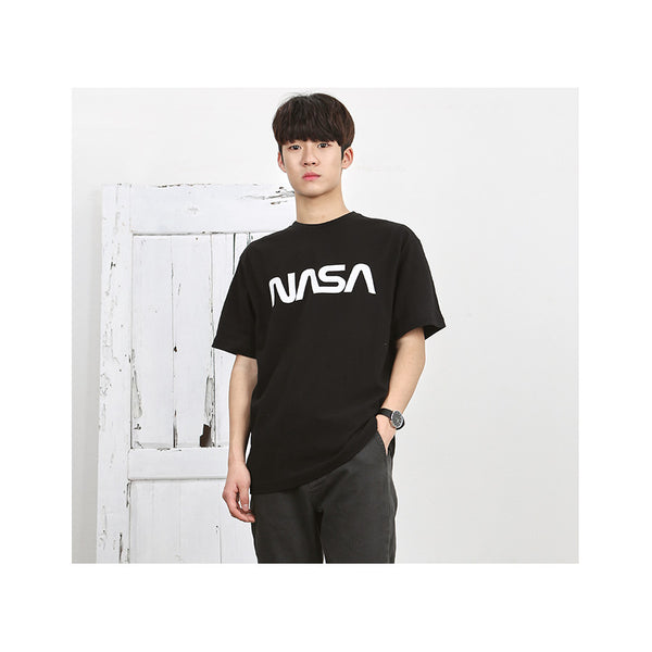 Siero x NASA - NASA Logo T-Shirt - Black